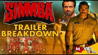 SIMMBA Trailer Breakdown | Ranveer Singh, Sara Ali Khan, AjayDevgan, Sonu Sood