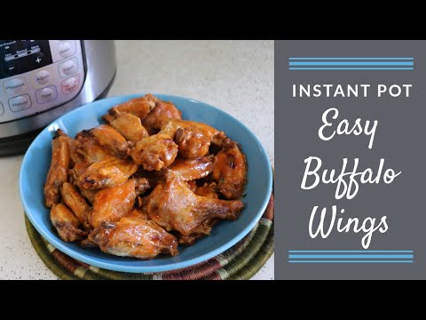Easy Buffalo Wings (Instant Pot)