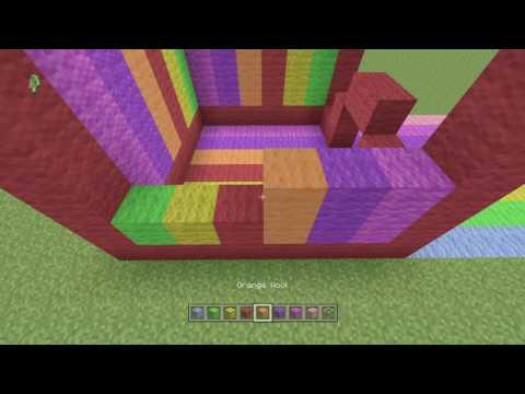 How to make a RAINBOW HOUSE!!!!!!!!!