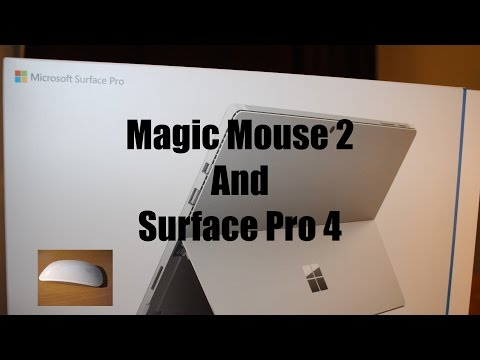 Magic Mouse 2 And Surface Pro 4 Excellent Combination | Bootcamp 6