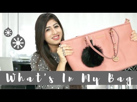 What's In My Bag 2016 + Gucci Giveaway ( Closed ) | Simran Bhatia