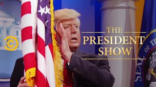 The President Is Extremely Patriotic - The President Show