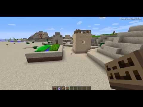 How to find a village in minecraft demo!