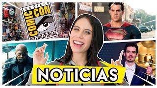 Man of steel 2, Comic Con por internet, 13 reasons why 4, Netflix sube precios y MÁS.