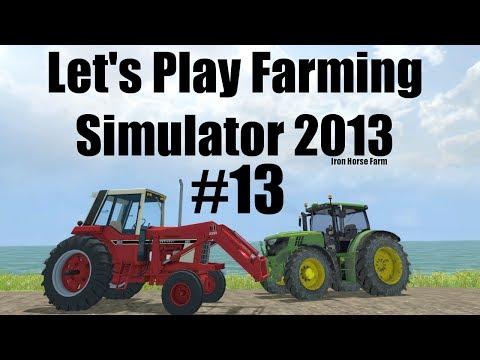 Farming Simulator 2013 Iron Horse E13 hay making