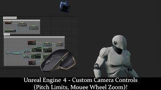 Unreal Engine 4 Blueprint Camera Tutorial - Look At, Targeting