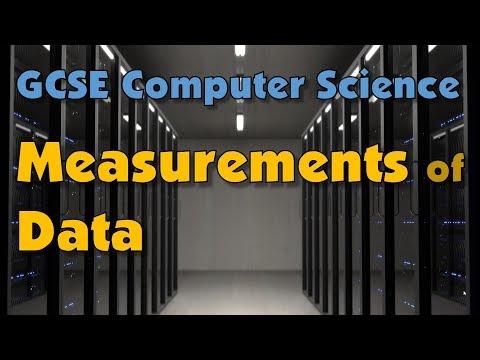 Understanding Units of Data Measurement (GCSE)