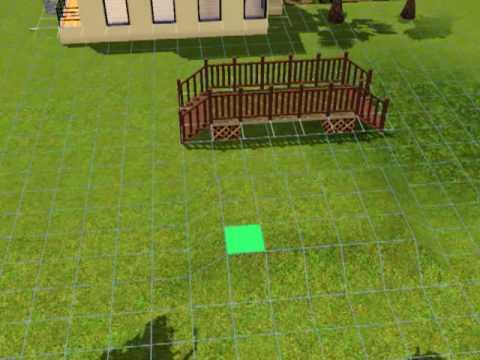 Sims 3 Tutorial - How to Make a Bridge