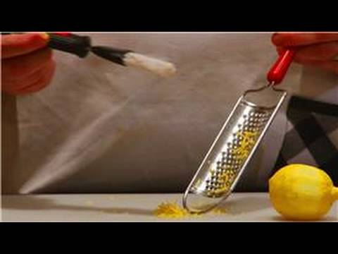 Cooking Tips & Basics : How to Make Lemon Zest Without a Zester