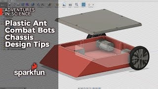 Adventures in Science: Plastic Ant Combat Bots Chassis Design Tips