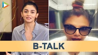 "B-Talk|Sanjay Dutt & Suniel Shetty Want to Meet ""Dream Girl"" Pooja |Rakhi Sawant Shifting to UK|Alia"