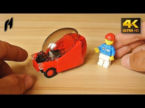 How to Build the Lego Bubble Car (MOC - 4K)