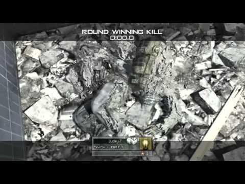 Modern Warfare 2  Amazing Throwing Knife