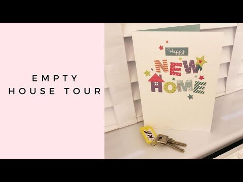 EMPTY HOUSE TOUR | MOVING HOME | BEFORE RENOVATIONS