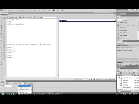 CS6 Stylesheets CSS Dreamweaver