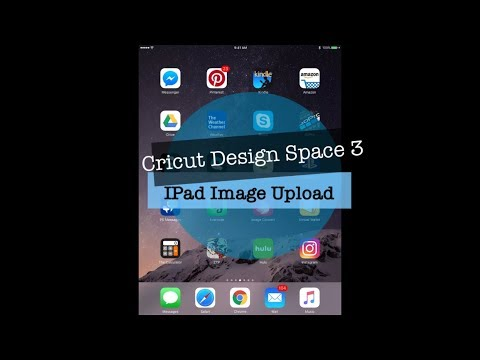 How to upload an image on Cricut Design Space (IPad Version)