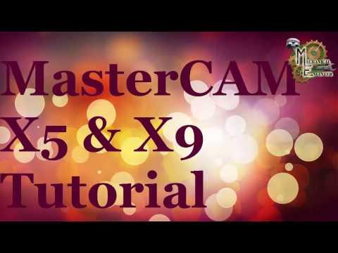 MasterCAM X5/X9 Basic tutorial for Begineer in Hindi/English