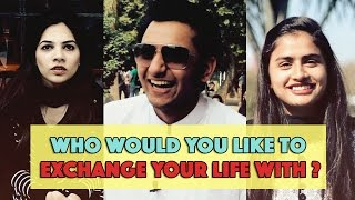 Bolo Pakistan | Who Would You Like To Exchange Your Lives With? | MangoBaaz