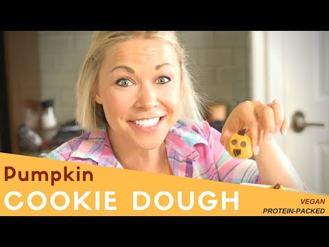 Vegan (PROTEIN PACKED) Pumpkin Cookie Dough Bites, In Time For FALL!