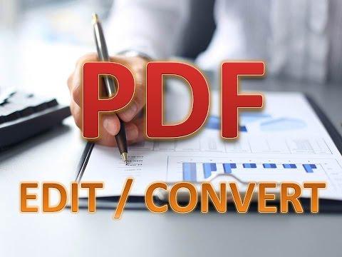 PDF Editing or Convert  in Sri Lanka