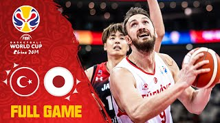 Turkey made their presence known vs. Japan - Full Game - FIBA Basketball World Cup 2019