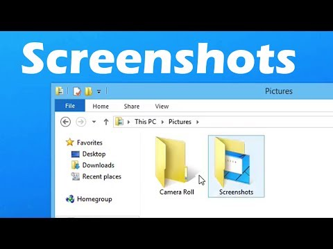 How to Take a Screenshots in Windows 8.1