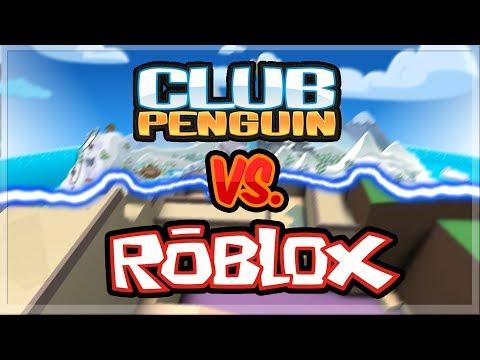 Club Penguin vs Roblox