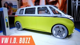 Fully-electric VW microbus concept