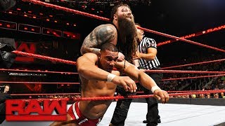 Jason Jordan vs. Bray Wyatt: Raw, Nov. 13, 2017
