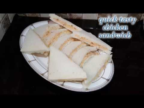 Quick Tasty Chicken Sandwiches With Thousand Island Dressing