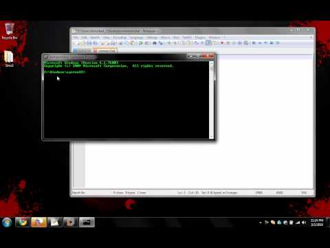 Make your own command shell (Bypass blocked CMD)