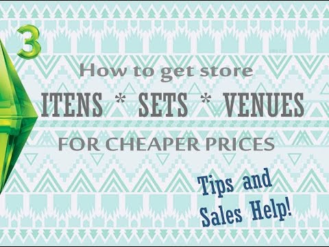 How to get store itens, sets and venues for cheaper prices - Tips and Sales Help!
