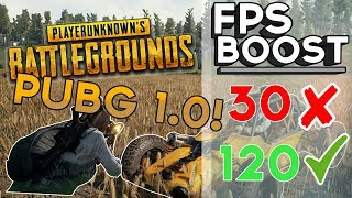 🔧 BATTLEGROUNDS: Dramatically increase performance / FPS