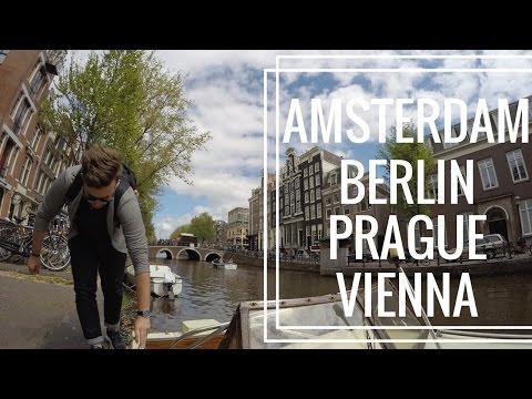 Touring Europe | Amsterdam | Berlin | Prague | Vienna