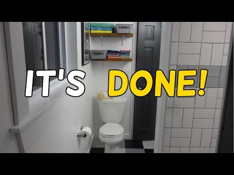Our Barn House Bathroom Renovation Is Done!