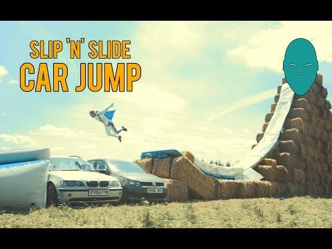 Slip 'n' Slide Car Jump | Damien Walters