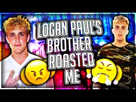Logan Paul's Brother Roasted Me!!! (EXPOSED)