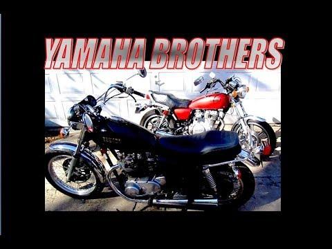 Yamaha brothers XS650 and XS400