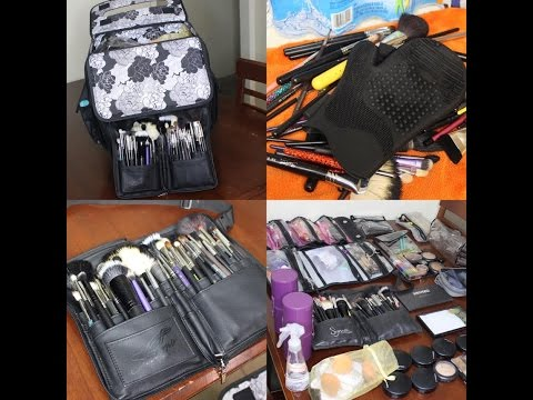 MAKEUP KIT PREP FOR WEDDINGS! CLEAN & ORGANIZE BRUSHES PLUS MORE