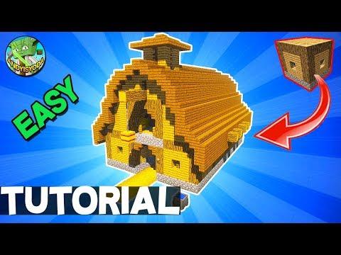 Minecraft 5x5 House - Transform to a Barn