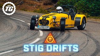 STIG DRIFTS: Caterham 620R; 545kg and 310hp in the wet | Top Gear
