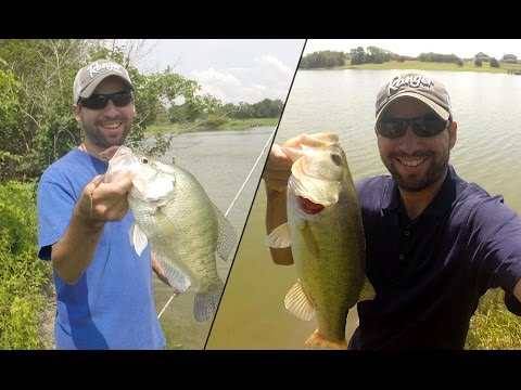 Crappie, and Catfish, and Bass...oh my!  MTB Slam