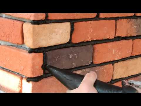 Navilla Face Brick Installation----Grouting Step 1