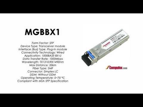 Mgbbx1 Linksyscisco Compatible 1000base Bx U Tx1310nmrx1490nm 20km Sfp