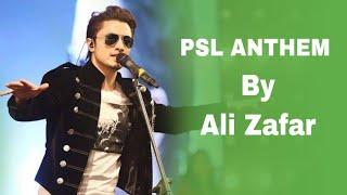 HBL PSL Official Anthem Video By Ali Zafar I PSL 2016   YouTube