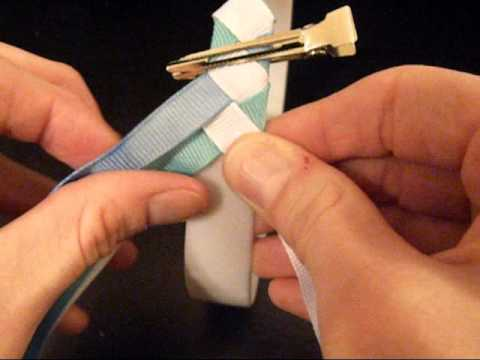 HOW TO: Make A Diamond Style Ribbon Woven Headband by Just Add A Bow