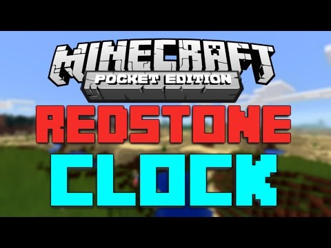 How to Make a Redstone Clock in Minecraft PE 0.13.0