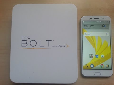 HTC Bolt Unboxing and Test -- High-end smartphone features for a low price!!!