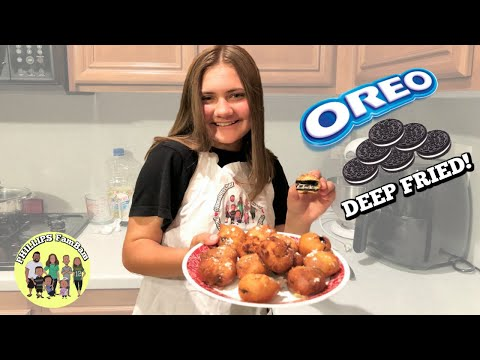 DEEP FRIED OREOS | HOW TO MAKE EASY FRIED OREOS RECIPE | KIDS IN THE KITCHEN