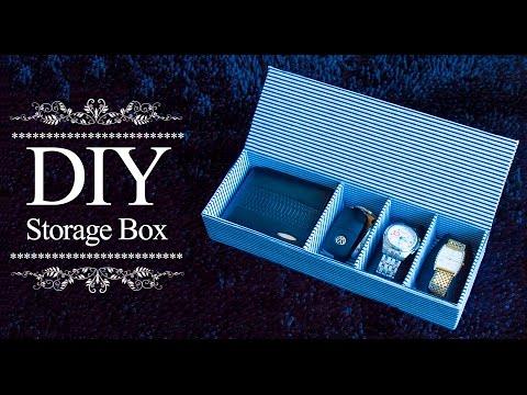 How to make storage box | DIY Organizer Box | Mulipurpose organizer  | Beads art
